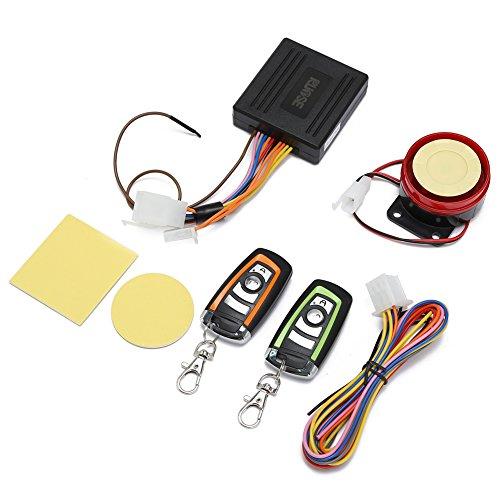 Rupse Antifurto Allarme senza fili antifurto di vibrazione impermeabile controllo remoto per Moto
