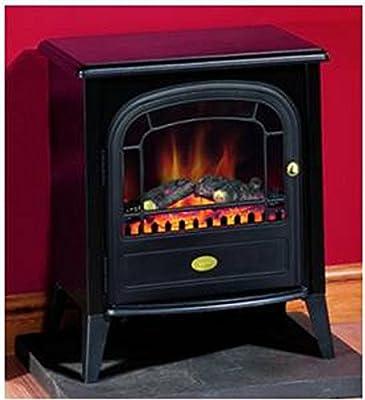 Dimplex CLB20LED Club LED kW elektrisches Feuer schwarz Kamin, Stil c, mit Fernbedienung von Dimplex auf Heizstrahler Onlineshop