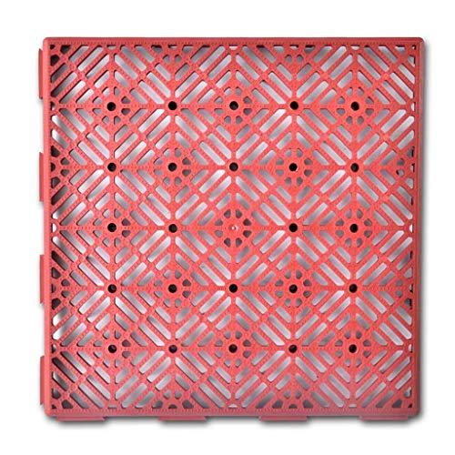 Baldosa de Jardín Azulejos de Suelo Material de Plástico 29 x 29...