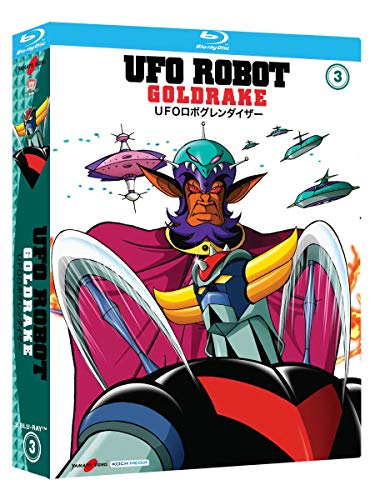 UFO Robot Goldrake Vol.3 (Collectors Edition) (3 Blu Ray)