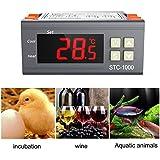 MS Todos los fines de Controlador de temperatura digital termostato acuario incubadora Cadena de Frío Temperatura de STC 1000 TO357