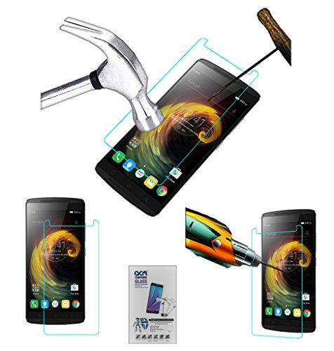 Acm Tempered Glass Screenguard Compatible with Lenovo Vibe K4 Note Screen Guard Scratch Protector