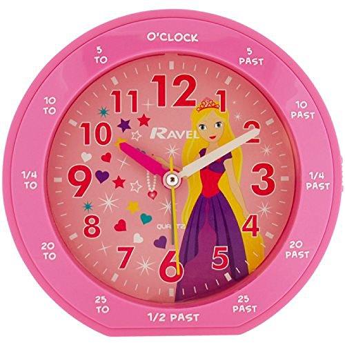 Ravel Rascals rosa Prinzessin Zeitlernwecker RC007.05B (Sweep Prinzessin)