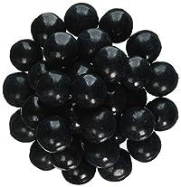 Sweetworks Celebration Gumballs, Black, 2.0 Pound