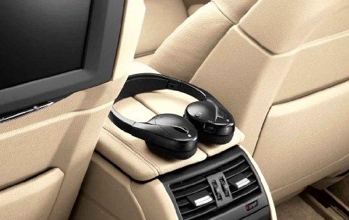 Preisvergleich Produktbild BMW Funk-Stereo-Kopfhörer. Passend für 5er F10, F11, F18 und 7er F01, F02