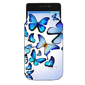 Vivo V55s Printed Pu Leather Mobile Pouch By Youberry (Mobile Pouch)