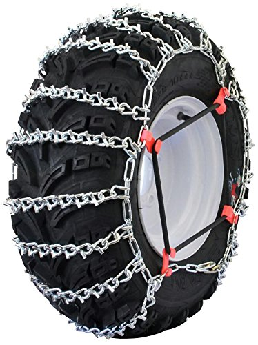 Atv Drop (Grizzlar GTU-609 Quad/ ATV Schneekette für 21x10-12, 22x8-12, 22x10-10, 23x8-10, 23x8-11, 23x10-10, Anzahl 2)