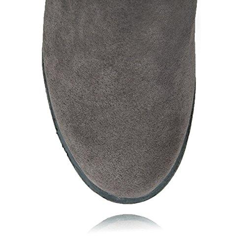 BalaMasa Abl10612, Sandales Compensées Femme Gris