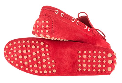 harridge Driving Shoes Wildleder Herren Rot