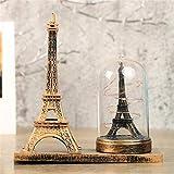 youjiu Suerte Mopec Decorativas Espumosos Adornos Decorativos De La Torre Retro-Europea De París.
