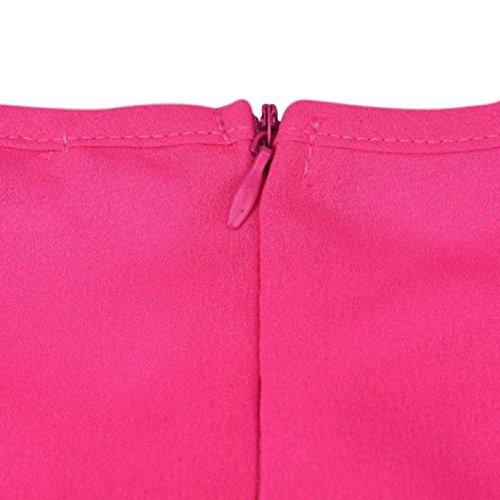 Vovotrade Ich spreche fließenden Sarkasmus Frauen Kurzarm Bluse beiläufige Baumwolle T-Shirt Tops Hot Pink