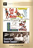Call Me Mister 1951; Oh, Men! Oh, Women 1957; Chicken Every Sunday 1949 by Don Dailey