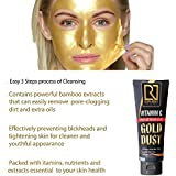 ROYAL NEEDS;YOUR HIGHNESS Vitamin C Peel off Mask with Gold Dust | Remove blackheads & whiteheads for advanced Golden glow