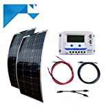 Kit Panel solar fotovoltaico Flexible 200W 12V PWM EPEVER