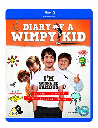 Diary Of A Wimpy Kid [Edizione: Regno Unito] [United Kingdom] [Blu-ray]