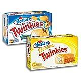 Twinkies Twin Pack - 1x Original Twinkies 1 und 1x Banana Twinkies
