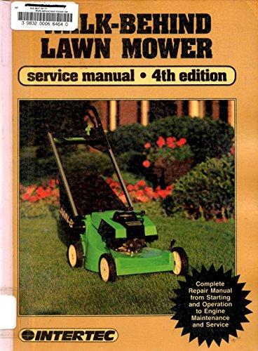 Preisvergleich Produktbild Walk-Behind Lawn Mower Service Manual