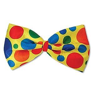 Bristol Novedad BA826 Clown Jumbo Bow Tie, Unisex Adulto, Talla Única