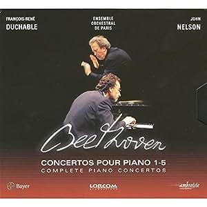 Beethoven - Les Concertos pour piano (1 à 5) + 1 DVD