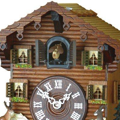 Quartz Cuckoo Clock Swiss house, incl. batteries TU 432 Q