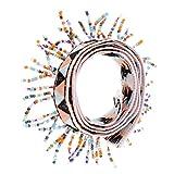 MagiDeal 1 Yard Bunte Pomponborte Bommelborte Pomponband Näharbeit Handwerk - Farbe 4, 50mm