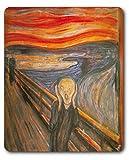 1art1 89694 Edvard Munch - Der Schrei, 1893 Mauspad 23 x 19 cm