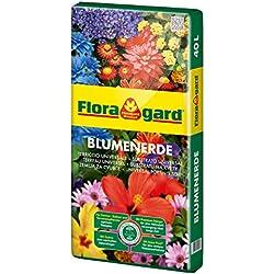 Floragard Blumenerde 40 L • Universalerde • für Balkon-, Kübel- und Zimmerpflanzen • mit dem Naturdünger Guano