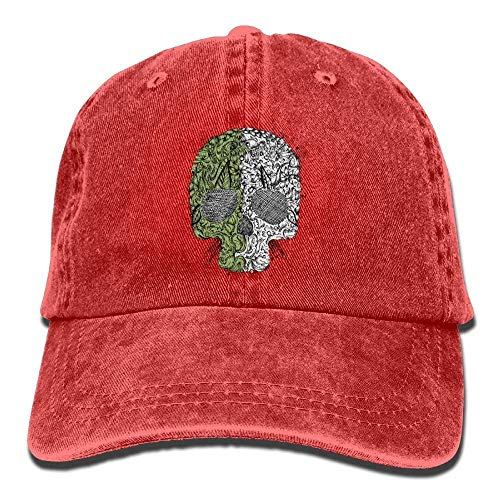 22a8845a979 Skull crazy baseball cap the best Amazon price in SaveMoney.es