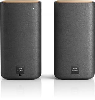 Philips Fidelio BTS7000/10 Pack de 2 Enceintes stéréo sans fil Bluetooth avec basses profondes - 100 W - Argent (B00HGB951Q)   Amazon price tracker / tracking, Amazon price history charts, Amazon price watches, Amazon price drop alerts