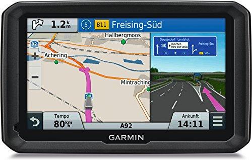 Garmin dezl 570LMT-D LKW Navigationsgerät, lebenslange Kartenupdates, DAB+, LKW-spezifisches Routing, 5 Zoll (12,7 cm) Touch-Glasdisplay