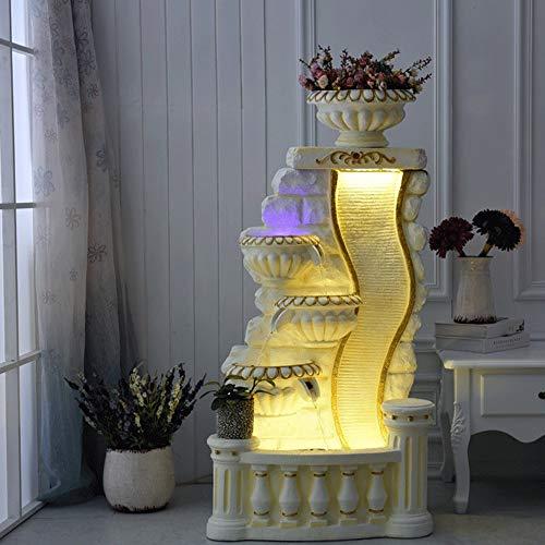 ts - Europäische und amerikanische Einrichtungsgegenstände glückliches Windrad Handwerk, Wohnzimmer, Studienwasser und Kunsthandwerk (Größe 65X47X31CM) Hauptdekorationstatue ()