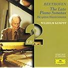 Beethoven: The Late Piano Sonatas (2 CD's)
