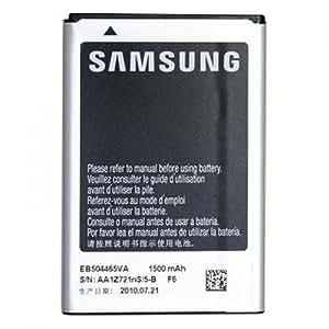 Samsung EB504465VU Batterie Li-Ion pour Samsung Wave 2 S8530/Omnia Pro B7610/Galaxy Spica I5700 1500 mAh 3,7 V