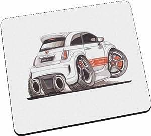 Fiat 500 Abarth personnalisé Koolart-Tapis de souris