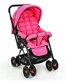 #1: Luvlap Blossom Baby Stroller (Pink)