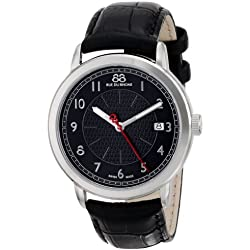 88 Rue du Rhone Men's 87WA120030 Analog Display Swiss Quartz Black Watch