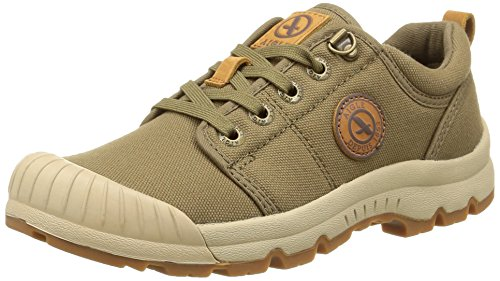 Aigle Tenere Light Low Canvas Scarpe da Arrampicata Basse Verde (Green (Kaki))