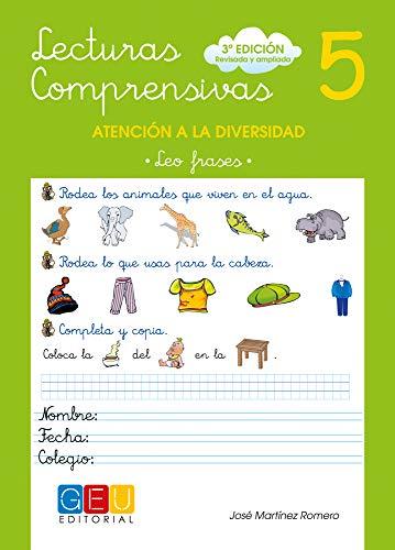 Lecturas comprensivas 5 - Leo Frases por José Martínez Romero
