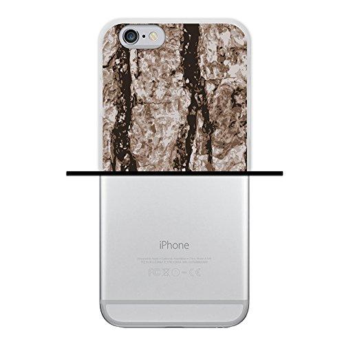 WoowCase Hülle Case für { iPhone 6 6S } Handy Cover Schutzhülle Alter Wald Housse Gel iPhone 6 6S Transparent D0211