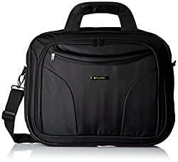 Travel Black 15.4 Inches Laptop Bag - 4 Pockets