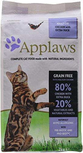 Applaws Katze Trockenfutter Huhn & Ente, 1er Pack (1 x 2 kg)
