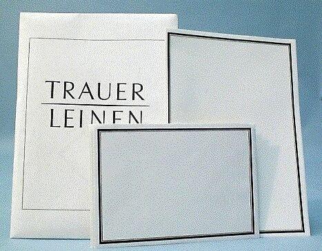 MAILmedia TrauerBriefpapier, inkl. Briefumschlag 170800