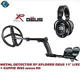 DETECTOR DE METALES XP XPLORER DEUS 11' LITE + AURICULARES WS5 inalámbrico