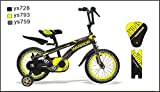 ctbikes Warrior Kids Bikes BMX Yellow/Black AVAILABLE in Size 18