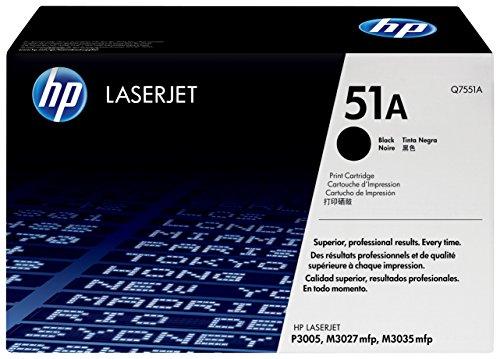 HP 51A (Q7551A) Schwarz Original Toner für HP Laserjet P3005, M3027, M3035 - Toner Hp Laserjet P3005n