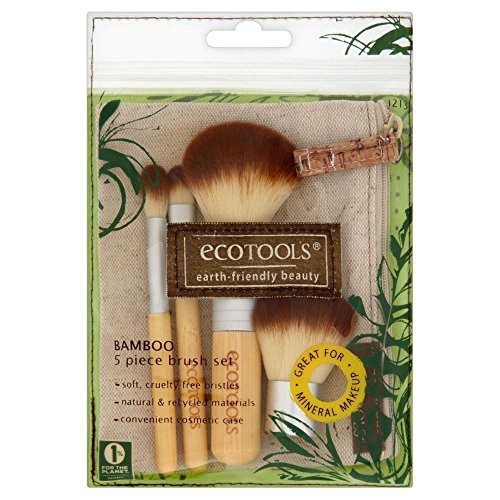 Eco Tools 5 Piece Bamboo Brush Set - Paquet de 6