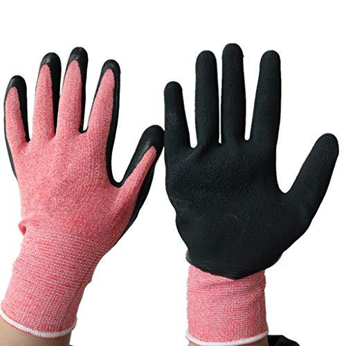 ZXH77f Industrielle Handschuhe Beschichtete Nahtlose Strickarbeitshandschuhe Ideal