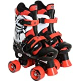 Osprey Boys Adjustable Quad Roller Skates Size 10-12