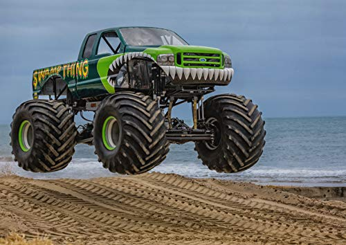 DV Posters A1 | Monster Truck Big Wheel-Plakat-Druck 60 x 90cm 180gsm Wand-Kunst-Dekor # 16087