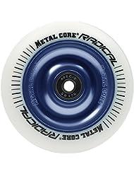 Metal Core Radical Ruedas Scooter, Blanco / Azul, Talla Única